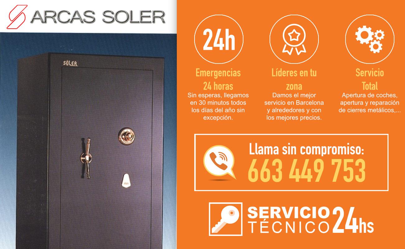 Servicio Técnico Arcas Soler